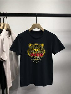 ken̴zo mens designer t shirts stripe polo shirt t shirts floral mens High street fashion horse T-shirt mens designer tracksuits