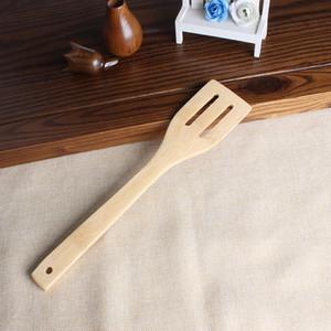 Bambou cuillère spatule 6 Styles Ustensile en bois Portable Cuisine cuisine Turners Slotted mélange Titulaire Pelleteuses T2I5803