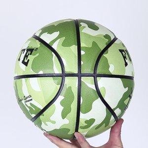 Outdoor Indoor Size 5 6 7 Pu Basket Basket Basket Training Basket palla regalo libero Basket Net Needle Jooyoo