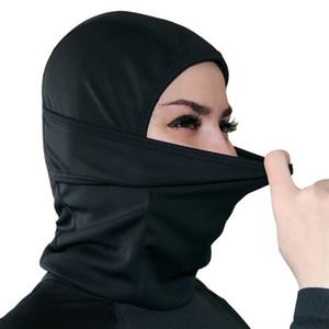Al aire libre del viento Máscara tapas Barakra invierno Riding máscara de protección solar a prueba de polvo cortavientos Ciclismo Sombrero enmascarado manguitos del oído LJJA3505