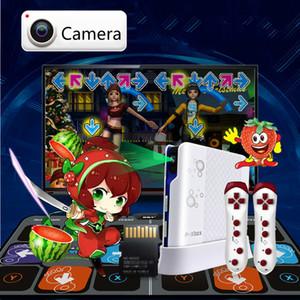 Cdragon Kamera Desteği Dans Mat Hareket Algılama Dans Pad Sliming Oyun 11mm Kablosuz Oyun Konsolu İçin Tv PC Dans Kilim Spor Y200413
