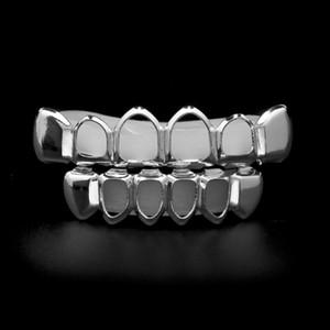 Полые Золото Grillz Зубы Вампира Граф Зубов Grillz Хип-Хоп Мода Стоматологическая Грили, Расположенные Гладкие Ювелирные Изделия Горячие Продажи
