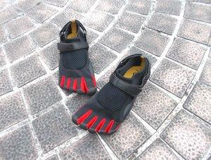 dedos Outdoor Lightweight Cinco Upstream Shoes Men mulheres de secagem rápida respirável 5 dedos do pé andando Shoes Unissex do Aqua Shoes
