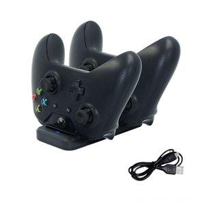 Dock İstasyonu Kontrolörü Xbox Oyun Kontrolörleri Joystick Oyun Aksesuarları biri Kablosuz Gamepad Hızlı Şarj Bas Standı Şarj Çift USB