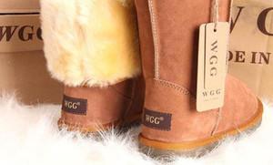 2020 VENTA CALIENTE NUEVO DISEÑO CLÁSICO T WGG AUS SEÑORA mujeres de la muchacha botas para la nieve botas altas 58155825 mujeres de baja estatura MANTENER arranques en caliente US3-12