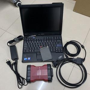 VCM2-E para Ford VCM II para Mazda coche herramienta de diagnóstico VCM VCM II viruta completa con X200T portátil escáner de diagnóstico auto