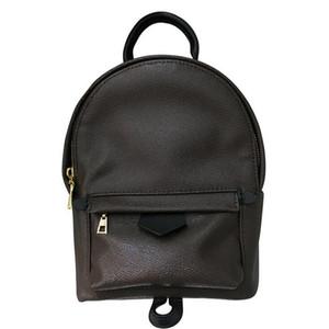 Новая мода Роскошные женщины рюкзак Дизайнер Классический Mini натуральная кожа рюкзак Lady School Bag 41562