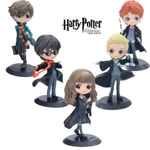 Action figure di Harry Potter Toys 9 Disegni 15cm PVC anime QPosket Simpatici occhi grandi Harry Potter action figure Modello Giocattoli per bambini