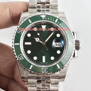 2 Couleur Top Qualité V5 Version BP Maker 40mm 116610 116610LN 116610LV Jubilee Bracele Asie 2813 Mouvement automatique Mens Watch Montres
