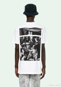 2020 Black White Fashion Summer Men T Shirts Summer Cotton Tees Skateboard Streetwear Casual Short Sleeves Fashion Printing.YN18