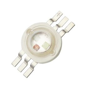 High Power Led Chip 3W RGB 4 pin Bright Intensity SMD Cob Light Mission Component Diode 3 W Pample Lamp Beads DIY Lighting CRESTECH