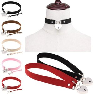 Apuesto cadena de clavícula punk puro de color joyas de cerradura con llave mujer de la manera collar del partido del festival WY480Q regalo