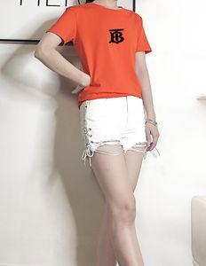 gg New men's cotton ins casual ladies T-shirt fashion wild letter shirt Medusa slim round neck T-shirt