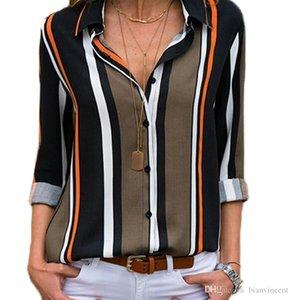Chiffon for Women girls T Shirt Tops Tees China print cotton short casual wholesalers chiffon match Shirts stripe Tops Blouse fashion Womens