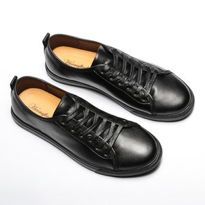 2020 Uomo TAGLIA 37 ~ 47 pelle pieno fiore Scarpe da uomo 2018 Hecrafted Moda Uomo comode scarpe casual