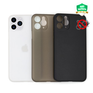 New design 0.35mm frosted PP anti-bacterial phone case for iPhone 11, ultra thin for iPhone 11 Pro case cover