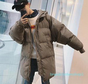 Fashion-Men Winter Long Hooded Parkas 2018 Mens Colorful Bubble Coats Black Parkas Male Korean High Quality Warm Clothes