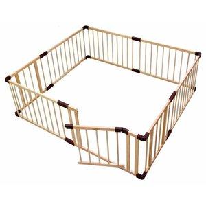 Marca del bambino del gioco Fence Crawl Guardrail Ostacoli valori Baby vero legno massello Giocare recinzione pannello bambino box gioco guardia recinto in legno SH190923