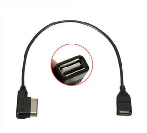 Media-em cabo adaptador USB Fit Audi AMI MMI VW Skoda Superb MDI USB Car Audio MP3 music interface do adaptador A3 Golf MK7 MK6