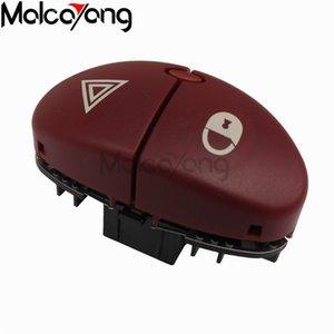 6554.L0 Red 5Pin flasher switch لبيجو 206 1999-2015 96403778JK التبديل الخطر لسيتروين