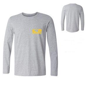 Nouveau T-shirt décontracté à manches longues MMA Bad Boy Badboy de Creative Imprimes Hommes Blanc