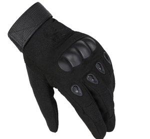 Nuevo deporte Ejército de guantes tácticos dedo completa guante exterior anti-derrape guantes deportivos 9 3 colores para la opción de tamaño