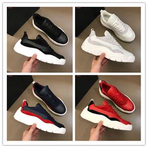 Yeni Erkek Orijinal Kutusu Gumboy Dana derisi Sneaker Kalın Sole İtalya Moda Deri Erkek Ayakkabı Spor Ayakkabı Sıcak satış Casual Ayakkabı süet