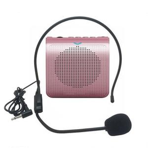 Mini audio altoparlante stereo portatile amplificatore di voce del suono naturale del microfono Altoparlante per Tour Guide Speech K100