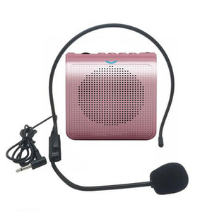 Mini Speaker Portátil de áudio estéreo portátil de voz amplificador Natural som do microfone Alto-falante de Guia Turístico Speech K100