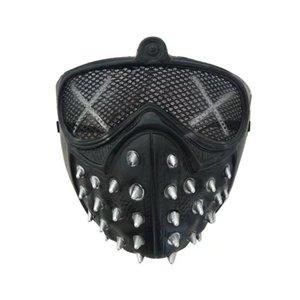 Halloween Halloween Cosplay Máscara Cosplay Máscaras Reaper Máscaras Grim Rebite Punk Rivet Masquerade Devil Morte PBXGO
