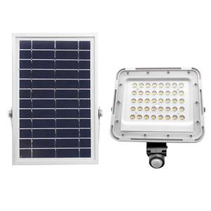 Edison2011 Новый 80 LED Solar Прожектор PIR датчик движения Открытый безопасности Солнечный свет Настенный светильник для сада Yard Street Тропы 2020