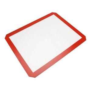 3 größe lebensmittelqualität antihaft silikon fiberglas backmatte küchenhelfer backenwerkzeuge für kuchen cookie macaron