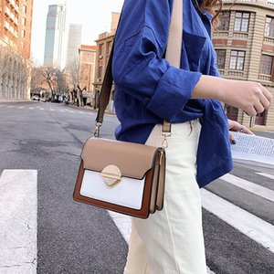 Mini Bag Women New PU Handbag 2020 Fashion Latch Square Sling Bag Wild Hand Carrying and Shoulder Carrying Aslant Shoulder