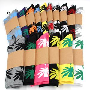 Männer Socken Weihnachten Socke Plantlife Baumwollsocken Skateboard hiphop Ahornblatt Frauen Sportsocken