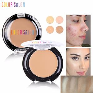 Цвет салона Полное покрытие 4 цвета Liquid Concealer макияж глаз темные круги крем для лица Корректор Водонепроницаемая Make Up Base Cream