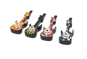 Fashionable violin pipe metal creative guitar pipe with lid suction card packaging
