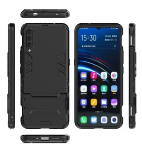 Caja del teléfono móvil para Vivo S6 IQoo3 IQoo-Pro-5G NEX3 V17-PRO U3 S5 X30 X30-Pro z6 silicagel anti caída de la caja del coche con soporte