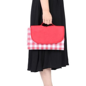 Picnic mat, pad Waterproof, moisture-proof picnic blanket for outdoor camping Red white grills - quality is our