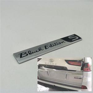 Для Lexus LX570 аксессуары 2008-2019 сзади автомобиля Trunk Special Black Edition Kuro S эмблема Badge Логотип Наклейка