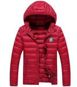 2019 Мода зимы пальто куртки Parka Человек Белая утка вниз Канада Parka Портативный мужские Одежда женская с Hoodie воротником в размере M-3XL