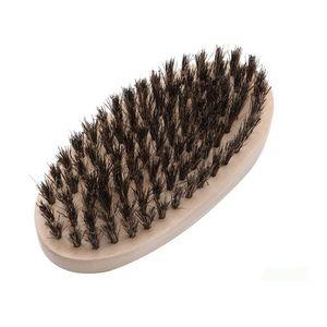 Beard Bro Shaping Beard Brush Sexy Man Gentleman Beard Trim Template Grooming Shaving Comb Styling Tool Idea de cerdas de jabalí