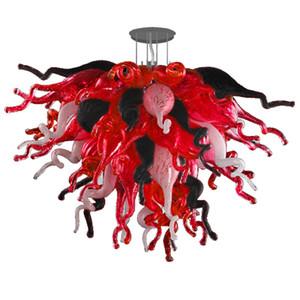 Techo moderno lámparas de cristal de Murano lámpara de las lámparas LED luces creativo pendiente de la luz Inicio Hotel Living iluminación