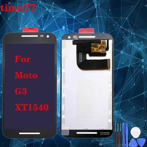 Alta qualidade para Motorola Moto G3 XT1540 tela LCD com tela de toque Assembléia Digitizer substituição Screen Display para Moto G3