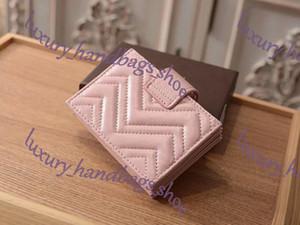 Heißer Verkauf und Großhandel Top-Schaffell Brieftasche Mode Damen einzigen Reißverschluss preiswerte Frauen-Ledermappe Dame Damen Geldbörse Short Brieftasche