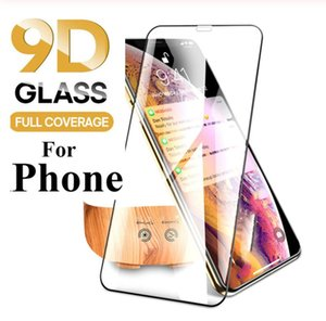 9D 0.3mm Screen Protector Tempered Glass For iPhone 11 Pro Xs Max X Xr 8plus Cover Protective Glass For iPhone 11Pro Max with Packing