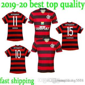 판매 최고 품질에 레트로 2008 브라질 저지 플랑드르 RJ 10 아드리아누 전체 스폰서 레트로 도매 축구 셔츠 축구 착용 유니폼 플라멩고
