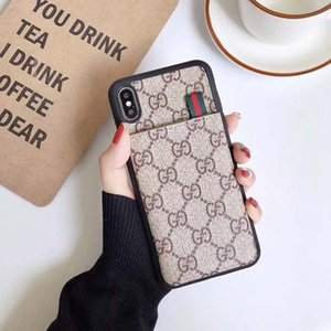 Luxe Designer Phone Cases Mode Phone Cases pour Max 6 7 8 XS cuir PU XR A76