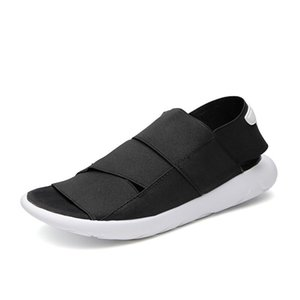 2019 Summer Men Sandals High Quality Shoes Beach Men Sandals Causal Shoes Fashion Outdoor Big size 38-46