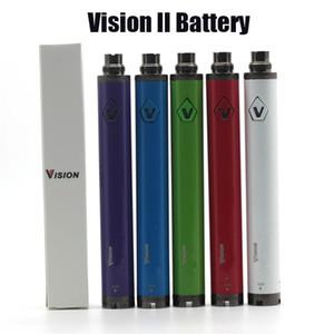 Vision 2 Spinner 2 Batteria Evod Twist 3.7V - 4.8V Vision II Tensione della batteria variabile per 510 Discussione atomizzatore di trasporto