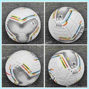 New 2020 Copa America Fußball Finale KIEW PU Größe 5 Bälle Granulat rutschfester Fußball Frei hohe Qualität Bälle Versand